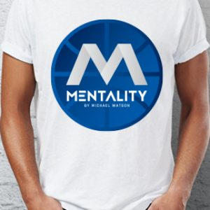 Mentality Traditional Blue Logo