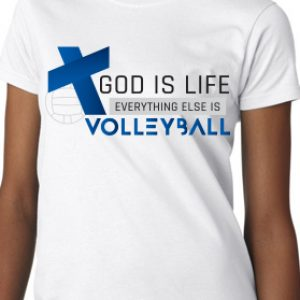 God is Life – Volleyball Edition